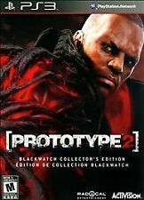 PlayStation 3 Prototype 2 Blackwatch Collectors Edition VideoGames