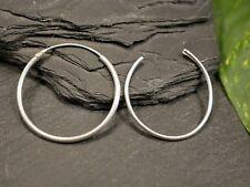 Tolle Silber Ohrringe Ohrhänger Creolen Defekt Für Bastler Dünn Schlicht Elegant