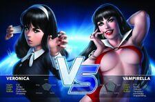 RED SONJA & VAMPIRELLA MEET BETTY & VERONICA #1 B WARREN LOUW EXCLUSIVE PRE-SALE