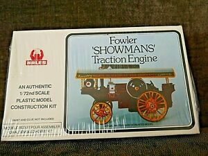 NEW IN SEALED BOX HALES FOWLER SHOWMANS TRACTION ENGINE MODEL KIT 1/72 SCALE