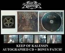 KEEP OF KALESSIN - REPTILIAN (CD 2010) AUTOGRAPHED / SIGNED, WITH BONUS PATCH!!!
