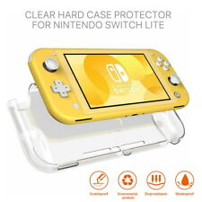 For Nintendo Switch Lite Clear Transparent Shockproof Protective Hard Case Cover