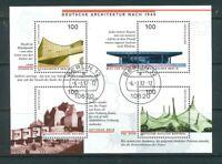 BRD Mi-Nr. 1906-1909 / Block 37 gestempelt Berlin 12