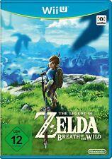 Legend of Zelda - Souffle of the Wild Nintendo Wii U WIIU NOUVEAU +