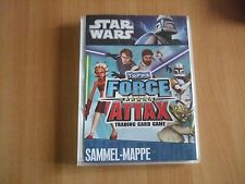 Force Attax Star Wars Sammelmappe komplett 190 Karten  + LE1 Serie 1