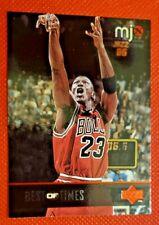 1998 Upper Deck MJx #135 Michael Jordan/Best of Times Team: Chicago Bulls