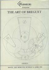 HABSBURG ART of BREGUET WATCHES Napoleon Bonaparte Auction Catalog 1991 HC