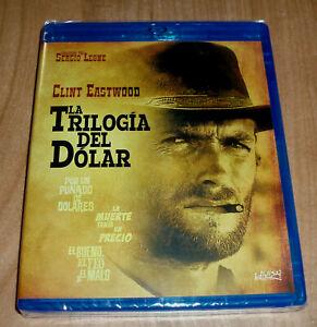 La Trilogia Del Dollaro Set 3 Dischi Blu-Ray Nuovo Sigillato Western (Senza