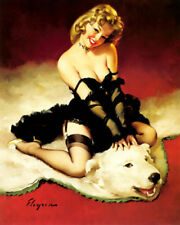 Vintage Pin-Up Art Posters