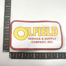 Gas & Oil Industry Oilfield Service & Supply Company Inc. Advertising Patch 99K9