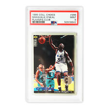 1995 Collector's Choice - Player's Club  Shaquille O'Neal #286  PSA 9  POP 2