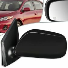 NEW LEFT SIDE POWER MIRROR MANUAL FOLDING FITS 2009-13 TOYOTA COROLLA TO1320247