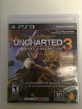 Uncharted 3: Drake's Deception  (Playstation 3, 2011)