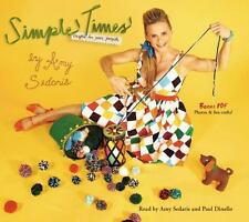 New Audio Book SIMPLE TIMES CRAFTS FOR POOR PEOPLE by Amy Sedaris Funny Dinello