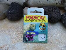 Behr Maracay-karpenhaken gebunden schwarz 1/0