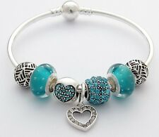 EUROPEAN BRACELET WITH CHARMS 20cm BRAND NEW FREE SHIPPING