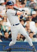 1997 TOPPS STAD. BASEBALL ROOKIE CARD #123 - HOF DEREK JETER -  NEW YORK YANKEES
