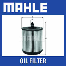 Mahle Oil Filter OX258D - Fits Vauxhall Astra, Vectra, Zafira