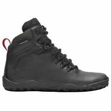 Vivobarefoot Tracker Firm Ground Black Womens Leather Waterproof Hiking Boots
