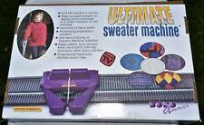 Ultimate Sweater Machine with bonus Row Counter and Extension Kit