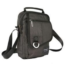 Vanlison Vertical Men Messenger Bag Shoulder Bag Sling Pack Satchel Bag Outdoor