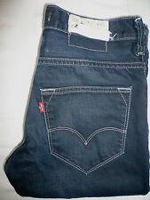 Levi's 513 Jeans Skinny Leg W32 L32 Strauss Bleu # levf 623