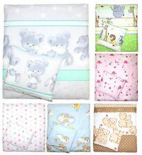 2 oder 4 teiliges Set 70x78 für Baby Wiege Kinderwagen Beistellbett Bettwäsche