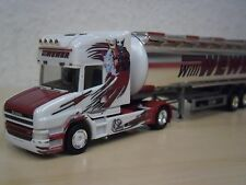 "Herpa - Scania Hauber Chromtank-Sattelzug ""Willi Wewer"" - Nr. 304870 - 1:87"