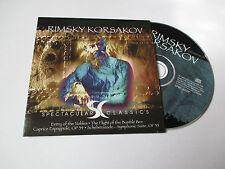 CD Série Spectaculars Classics - Rimsky Korsakov (pochette cartonnée)