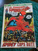 The Amazing Spider-Man: Spidey Cops Out Vol 1 issue 112 Sept 1972