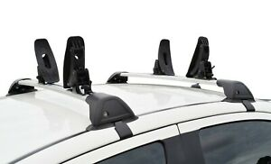 4 Kayak Canoe Roof Rack Mounted Carrier Holder and 2 straps