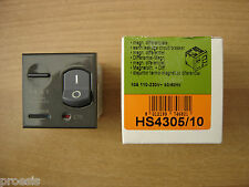 BTICINO HS4305/10 axolute scura magnetotermico differenziale 1P+N 10A 10ma 3KA