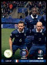 Panini Road to EURO 2016 Adrenalyn XL Line-Up 1 France No. 88