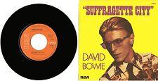 """""""David BOWIE"""" Suffragette City / Stay  (SP 45tours français)"""