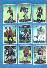 2014 TOPPS CHROME REFRACTOR LOT 127 DIF JIMMY GAROPPOLO DEREK CARR TOM BRADY + +