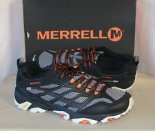 Merrell Mens Moab FST Waterproof Shoes J35769 Black Size 11