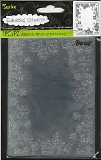 SNOWFLAKE Frame 4.25x5.75 Darice Embossing Folder Winter Holidays Snow 1219-135