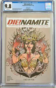 Die!namite #2 Peach Momoko Variant CGC 9.8 Dynamite 2020