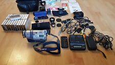 Sony DCR-TRV240EDigital-8 Videokamera+ Zubehörpaket: Zoom-Mikrofon, Filter, IR
