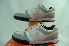 New Womens 5 NIKE Air Mogan 3 Pink Gray Black Skateboard Shoes $80