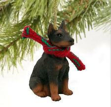 Doberman Pinscher (Brown Red) Dog Christmas Ornament Holiday Figurine gift