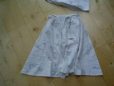 Falda, blanco- Gris V. paglie Talla 128-140