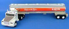 Exxon 1993 Plastic Toy Tanker Truck Sound Lights WOW!