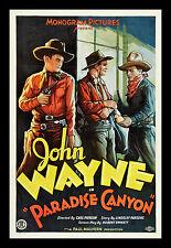 PARADISE CANYON * CineMasterpieces WESTERN COWBOY MOVIE POSTER JOHN WAYNE 1935