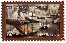 Us Postage Stamp Civil War New Orleans Metal Sign Man Cave Garage Shop Usps035