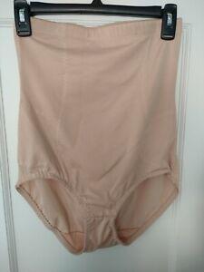 NWOT Women's Size 1X Beige High Waisted Brief Heavenly Shapewear