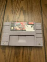Street Fighter 2 (Super Nintendo, 1993) SNES authentic works great