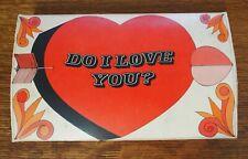 "Vintage Jockey Boxers in Original Valentines ""Do I Love You?"" Box"