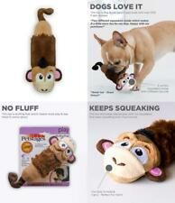 """3X Plush 7/"""" Double Ended Squeaky Toy Dog Puppy Toys Free Shipping"""