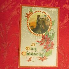 Vintage postcard Christmas Xmas lot 1910 Tucks Winter Glory Mount Carroll Il Ill